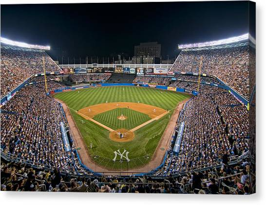 Old Yankee Stadium Canvas Print