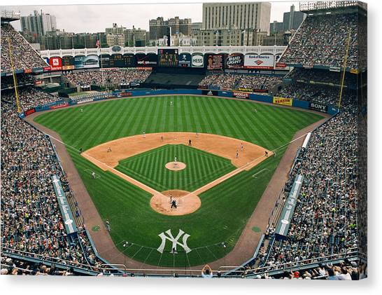 Yankee Stadium Canvas Print - Old Yankee Stadium Photo by Horsch Gallery
