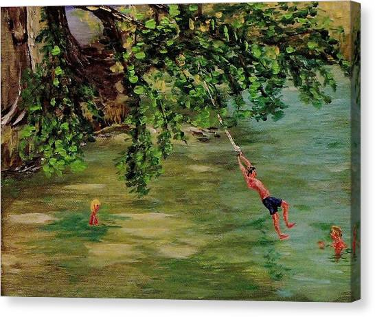 Ole' Swimming Hole Canvas Print