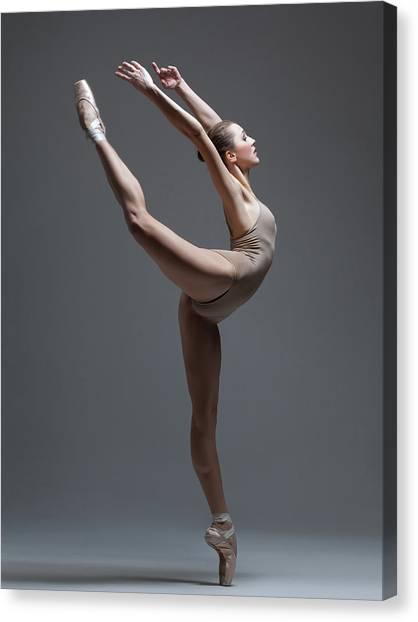 Legs Canvas Print - Olga Kuraeva by Alexander Yakovlev