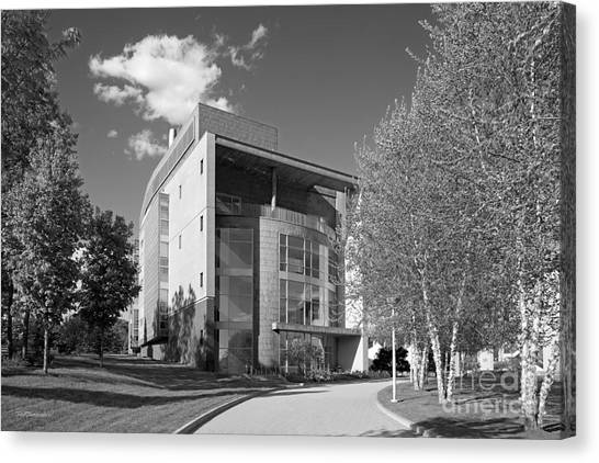 Academic Art Canvas Print - Olin College Academic Center by University Icons