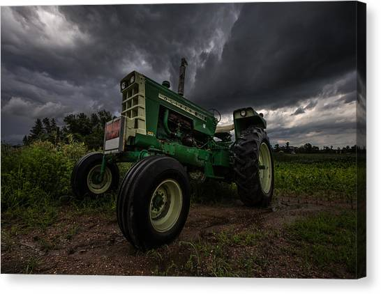 Tractors Canvas Print - Oliver by Aaron J Groen