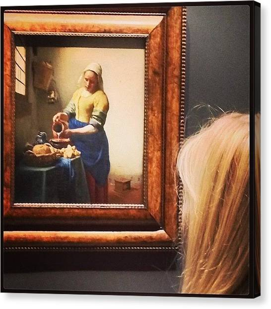 Rijksmuseum Canvas Print - @oliviagleeson26 #rijksmuseum by Ellie Miller