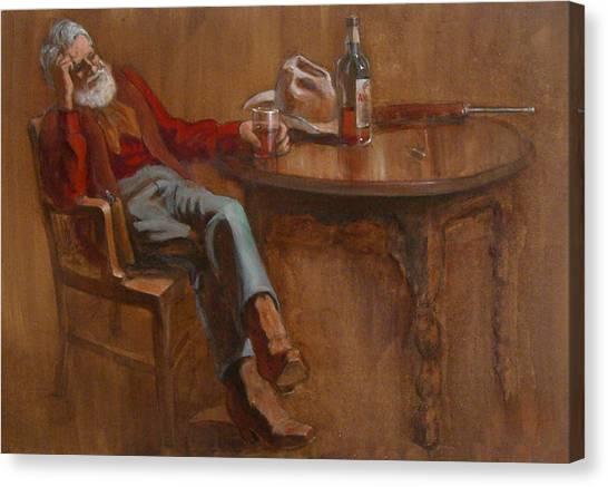 Ol'timer Canvas Print by Jack Adams