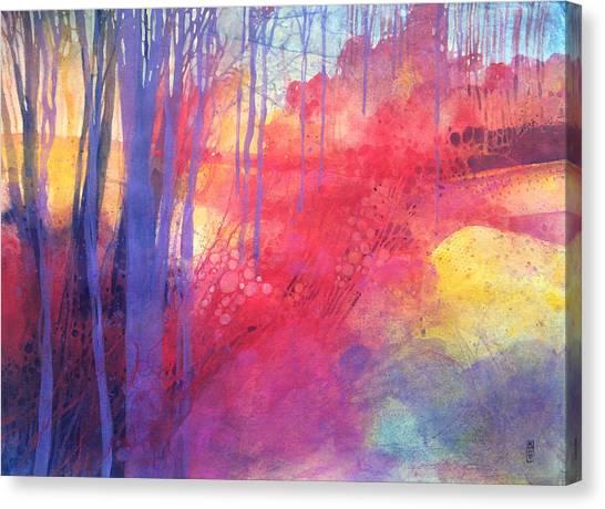 Oltre Il Sentiero Dei Faggi D'autunno Canvas Print by Alessandro Andreuccetti