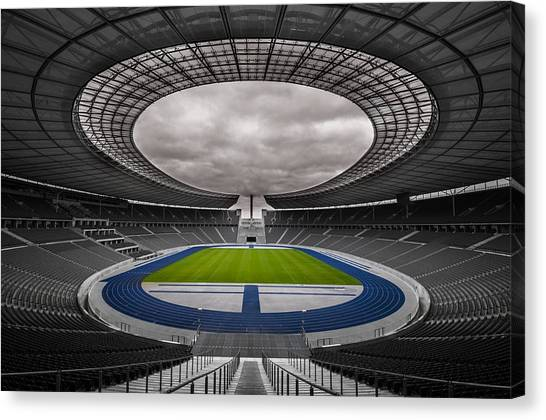 Olympia Stadion Berlin Canvas Print