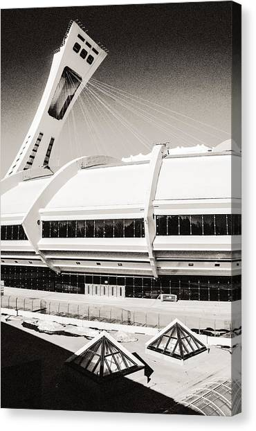 Olympic Stadium Canvas Print