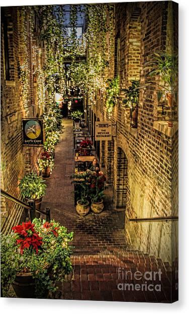 Omaha's Old Market Passageway Canvas Print