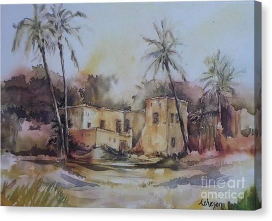 Omani House Canvas Print