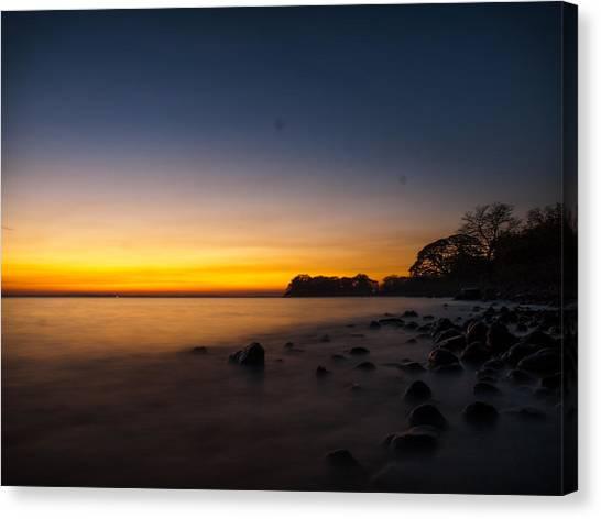 Ometepe Lake Mist Canvas Print