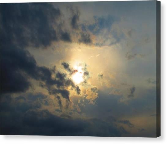Ominous Skies Canvas Print by Jaime Neo
