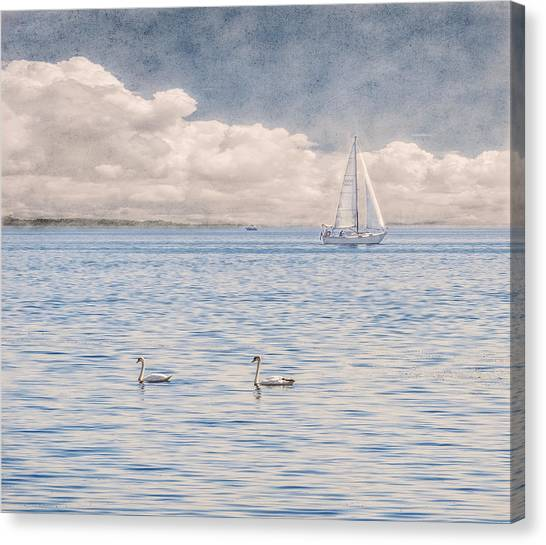 On A Summer's Breeze Canvas Print
