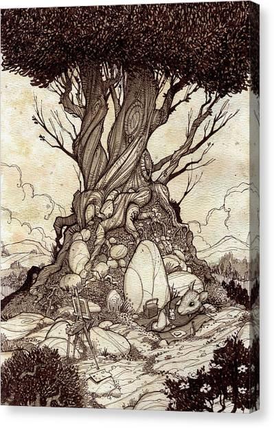 On Break Canvas Print by Harry Briggs