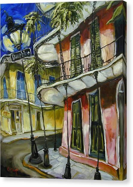 Gumbo Canvas Print - On Dauphine by Carole Foret