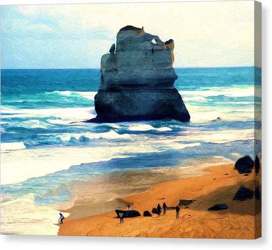 On Gibson Beach Canvas Print