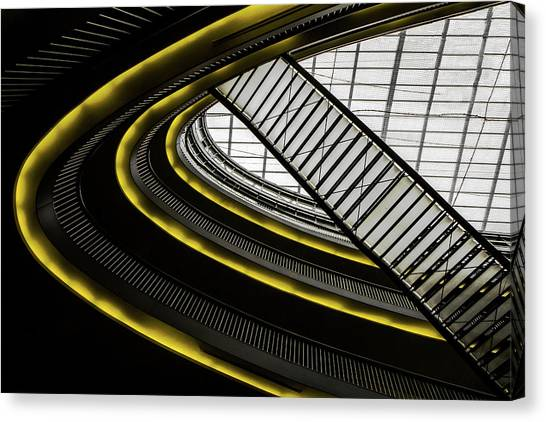 Mall Canvas Print - On Higher Level ... by Gilbert Claes