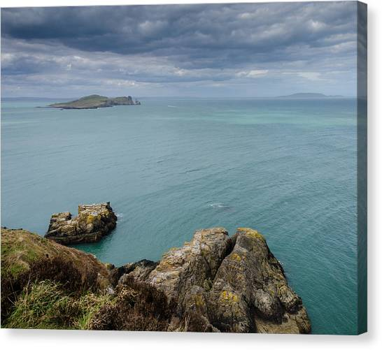 On Howth Head Canvas Print