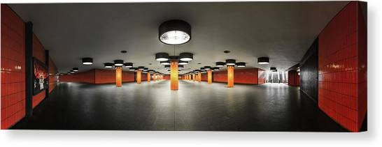 Hallway Canvas Print - On Stage by Kay Pk