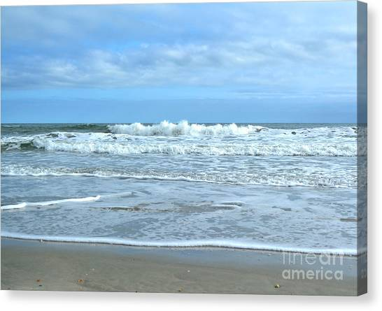 On The Beach Canvas Print