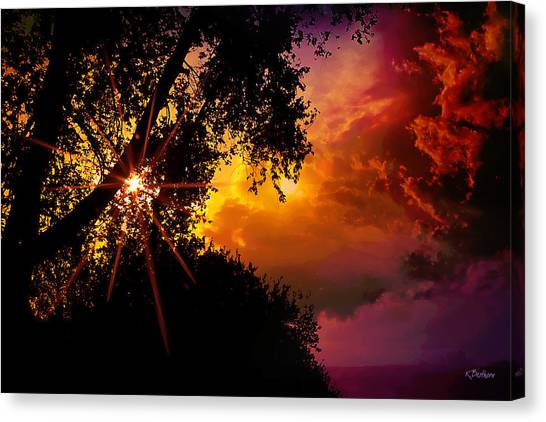 On The Brink Canvas Print