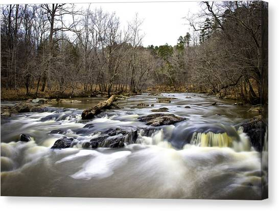 On The Eno II Canvas Print