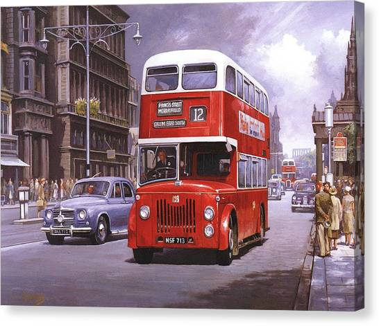 Cyclops Canvas Print - On The Golden Mile by Mike Jeffries