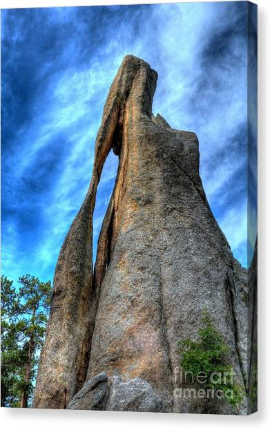 On The Needles Highway 3 Canvas Print