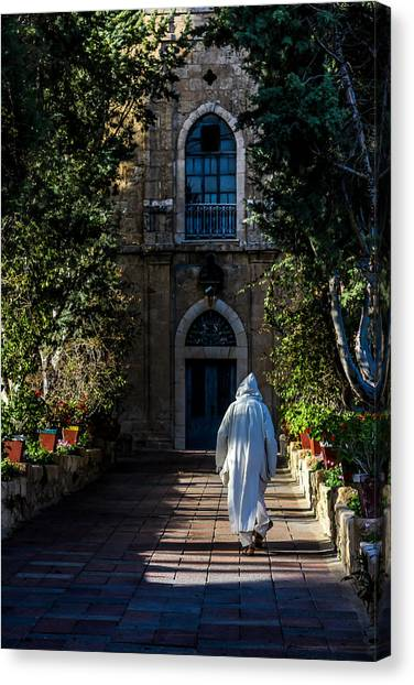 On The Right Path Canvas Print