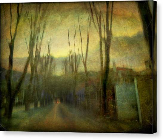On The Road #13 Canvas Print by Alfredo Gonzalez