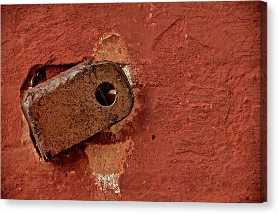 On The Wall Canvas Print by Odd Jeppesen