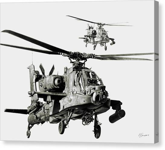 Aviation Canvas Print - On The Way by Murray Jones