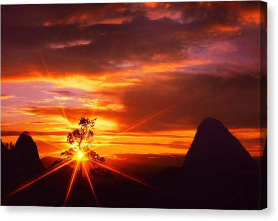 On The West Side  Canvas Print