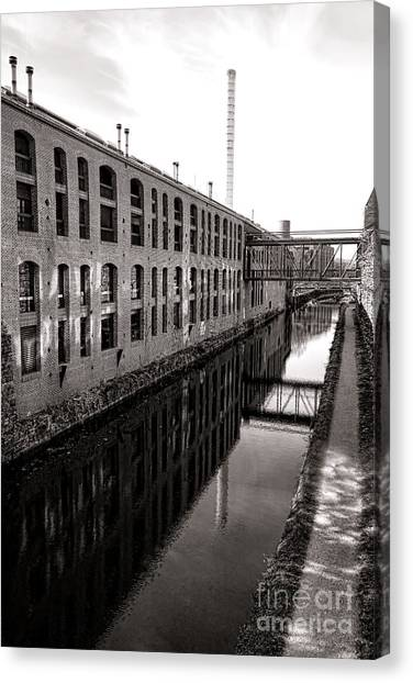 Washington D.c Canvas Print - Once Industrial Georgetown by Olivier Le Queinec
