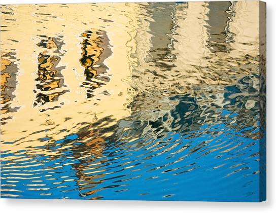 Once Upon A Canal Canvas Print