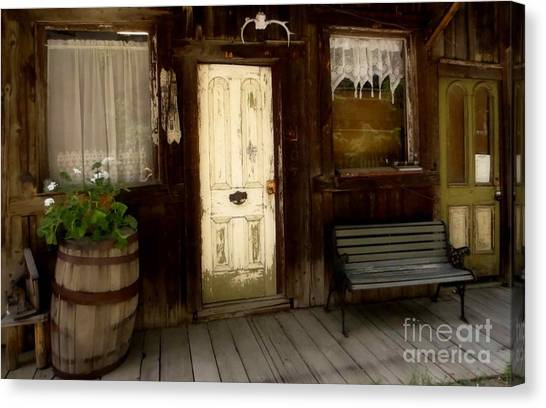 Once Upon A Time Canvas Print by Claudette Bujold-Poirier