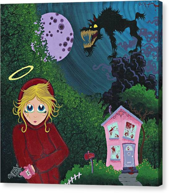 Once Upon A Time Canvas Print by Dan Keough