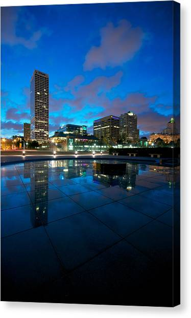 One Above Canvas Print
