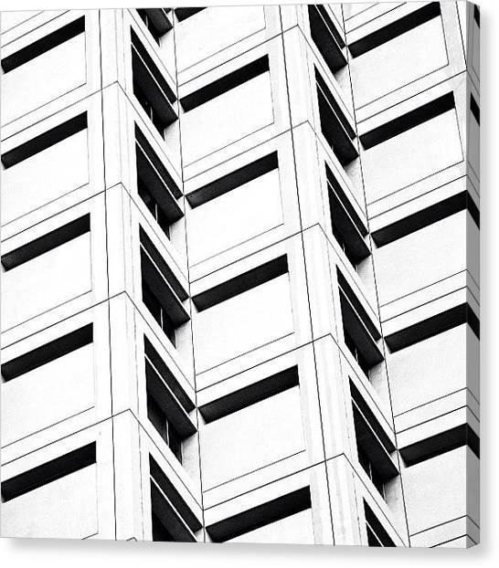 Archimasters Canvas Print - One Brickell Square - Miami by Joel Lopez