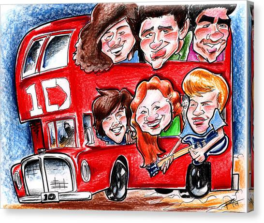 Sexy caricature canvas prints page 3 of 6 fine art america sexy caricature canvas print one direction by big mike roate voltagebd Images