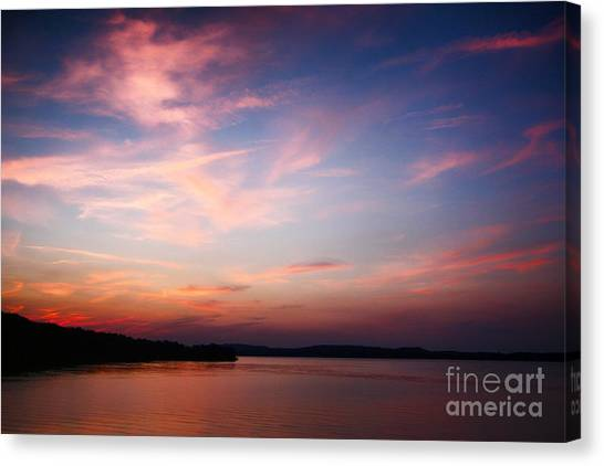One Fine Sunset Canvas Print