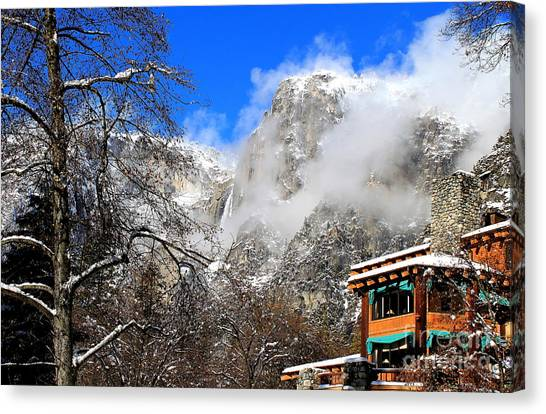 One Fine Winter Morning 2 Canvas Print
