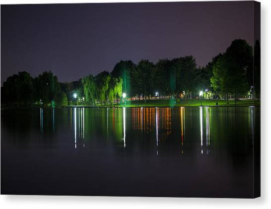 One Foot Lake Canvas Print by Michael Williams