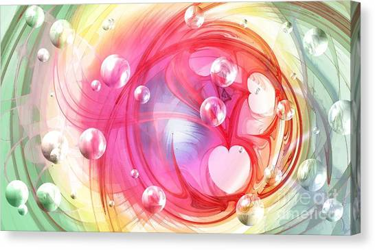 One Love... One Heart... One Life Canvas Print