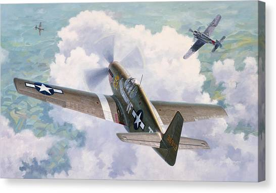 Ace Canvas Print - One Man Air Force by Wade Meyers