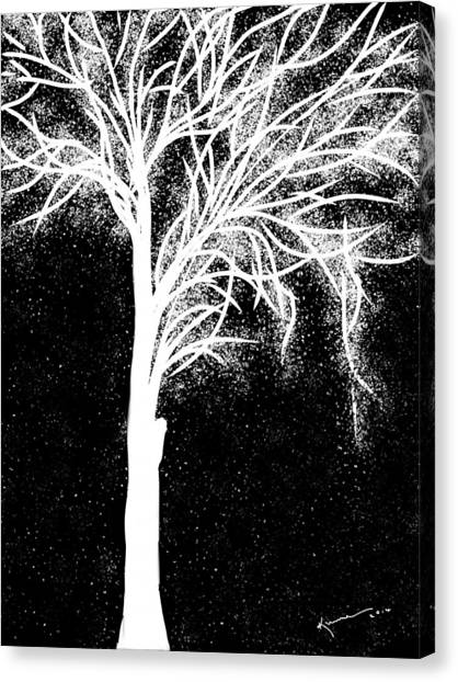 One More Tree Canvas Print