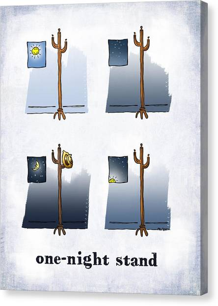 One Night Stand Canvas Print