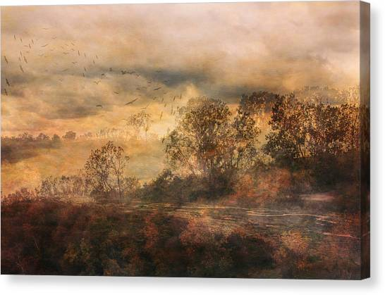 One October Day Canvas Print