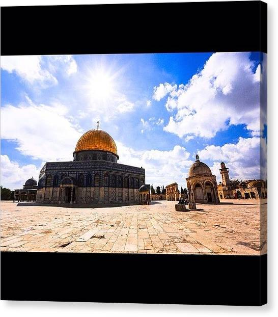 Palestinian Canvas Print - One Of My Favorite Pictures From My by Mouyyad Abdulhadi