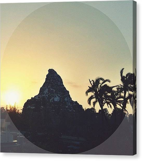 Matterhorn Canvas Print - Matterhorn Sunset by Sara Dye