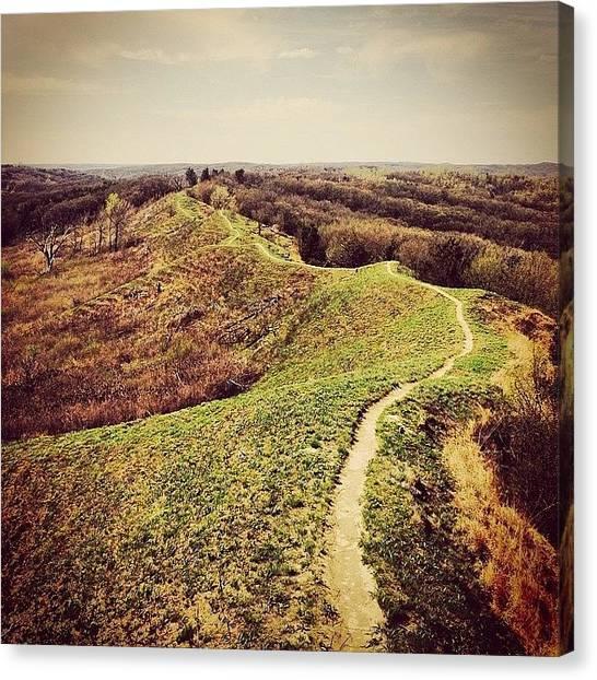 Iowa Canvas Print - Ridge Run by Zach Steele